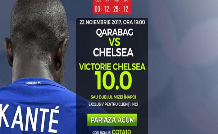 Chelsea iti aduce cel putin dublul mizei castig