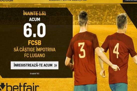 Castig reciproc la victoria FCSB