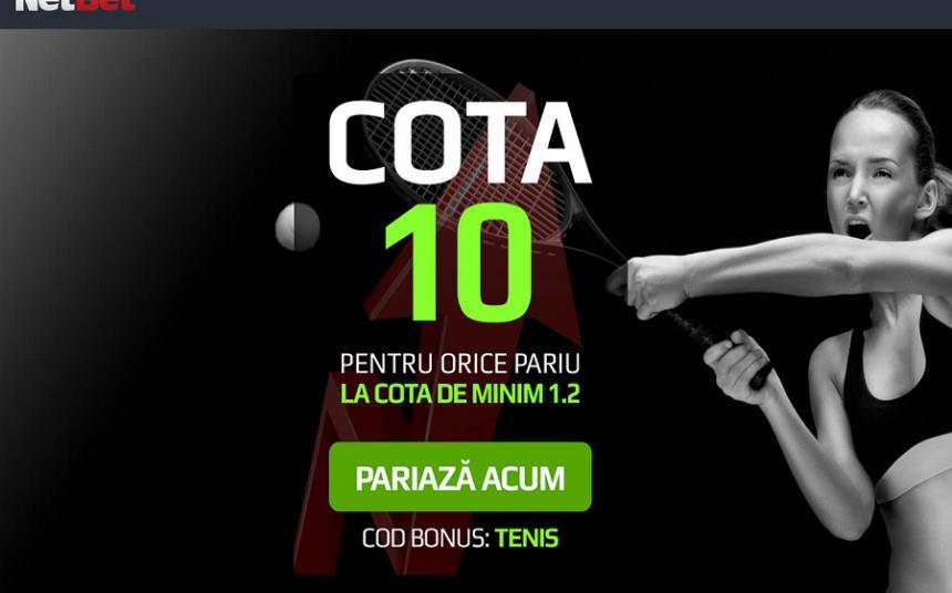 Cote de 10 la tenis