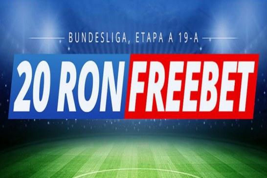 Se dau freebet-uri la pariurile pe Bundesliga