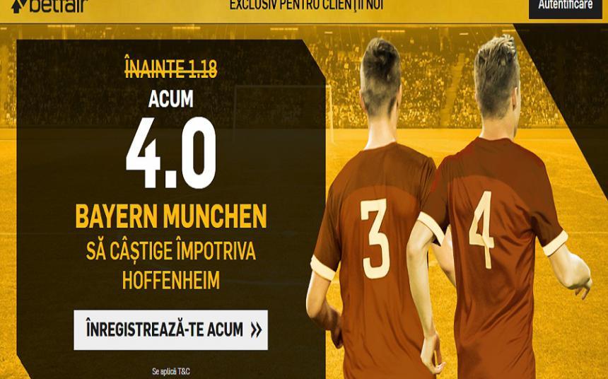 Bayern iti aduce de 4 ori miza