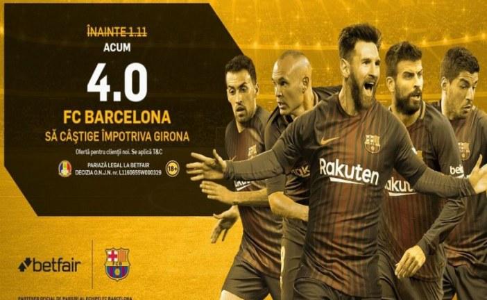 Barcelona iti da bani de 4 ori la victorie