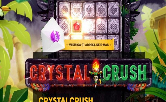 Ai premii zilnice la Crystral Crush pana la vara