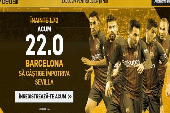 Cota unica la victoria Barcelonei