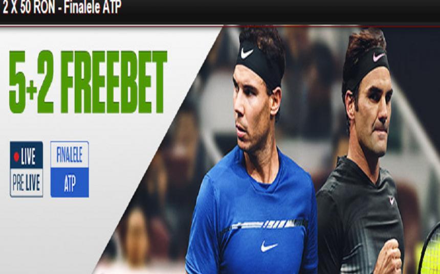 Freebet-ul la Finalele ATP