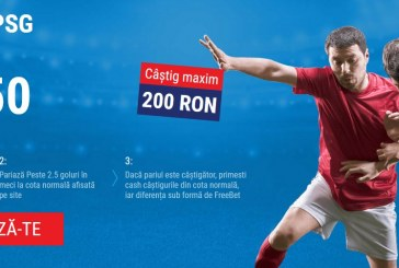 Cote mari la goluri europene oferite de Sportingbet
