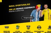 Fortuna lanseaza un nou pachet la pariuri sportive