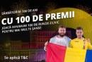 Fortuna sarbatoreste centenarul cu 100 de premii
