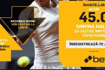 Betfair este alaturi de Simona Halep la Australian Open